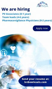 Opening For Pharmacovigilance- Associate, Leads & PV Physicians